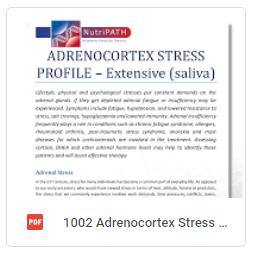 Adrenocortex stress profile ext saliva
