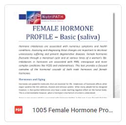 Female Hormone Profile Basic Brochure