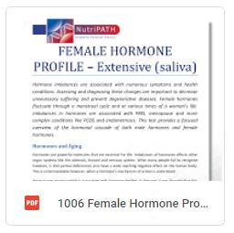 Female Hormone Profile Extensive Brochure