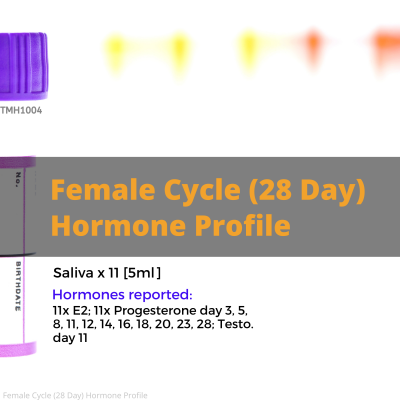 Female Cycle 28 Day Hormone Profile