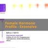 Female Hormone Profile Extensive